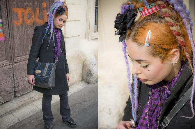 Camille en Gothic Lolita