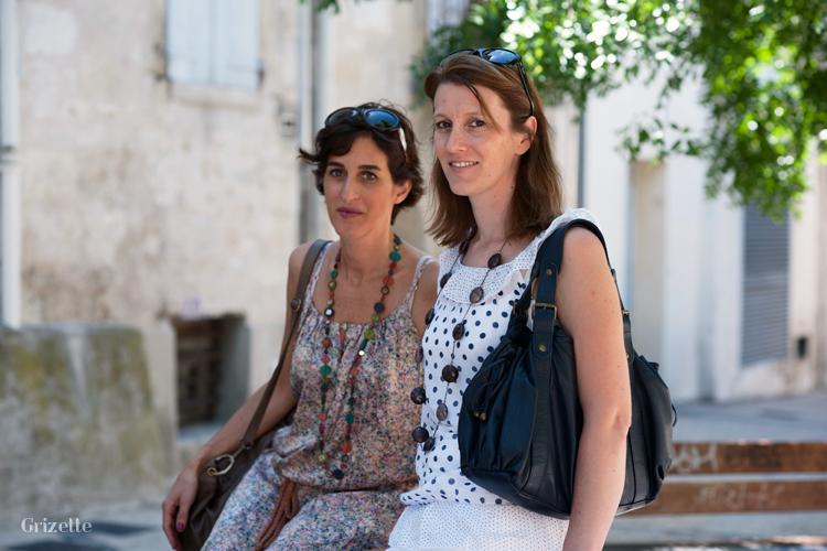 Laéticia et Cécile