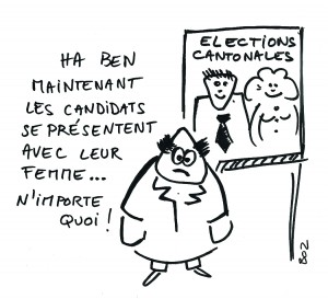 La parité aux élections cantonales
