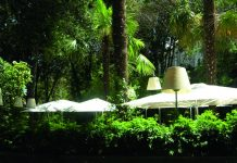 restaurants avec jardin
