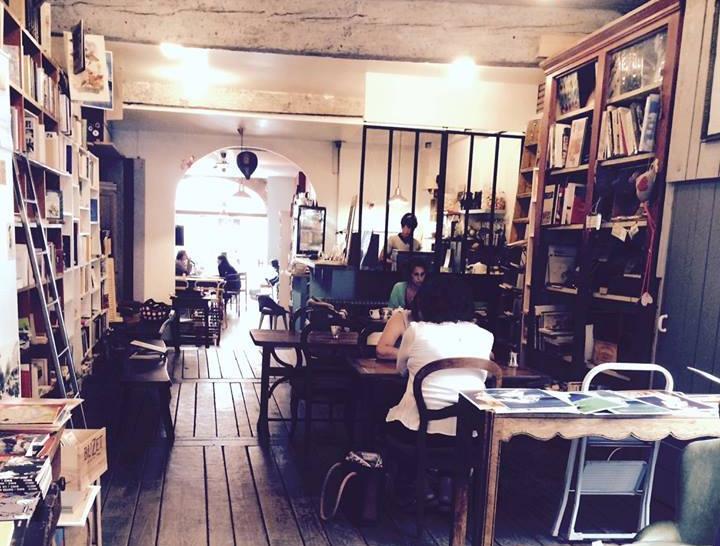 salon de th restaurant l 39 estaminot caf librairie grizette. Black Bedroom Furniture Sets. Home Design Ideas