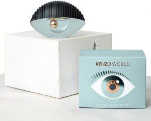 Design du parfum KENZO World © DR
