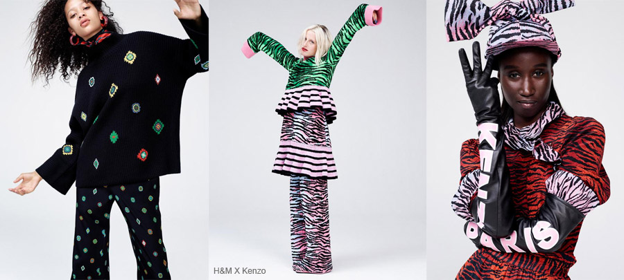 Collab Kenzo H&M
