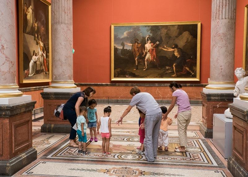 enfants guide loisirs musée fabre