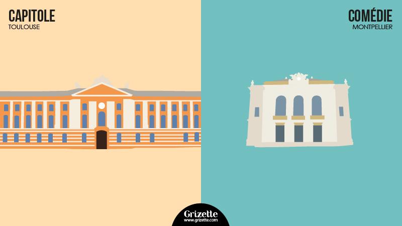 Toulouse vs Montpellier-Capitole vs Comedie