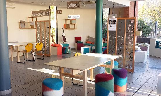 Travailler autrement les espaces de coworking toulouse for Salle de pause en entreprise