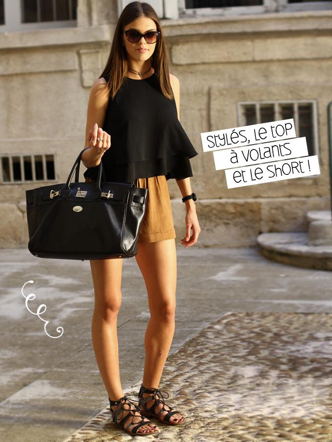 Street style top short montpellier