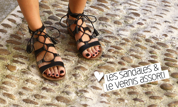 Street Style sandales Montpellier