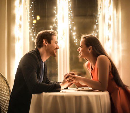 restaurant en amoureux