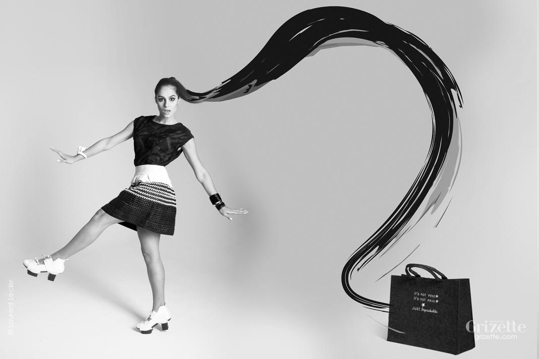 mode noir et blanc