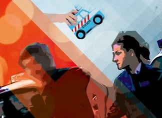 femme police