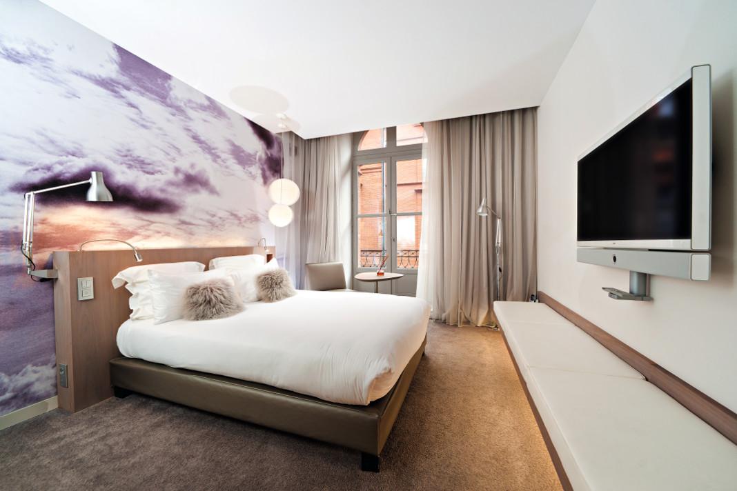 h tel le grand balcon toulouse capitole grizette. Black Bedroom Furniture Sets. Home Design Ideas