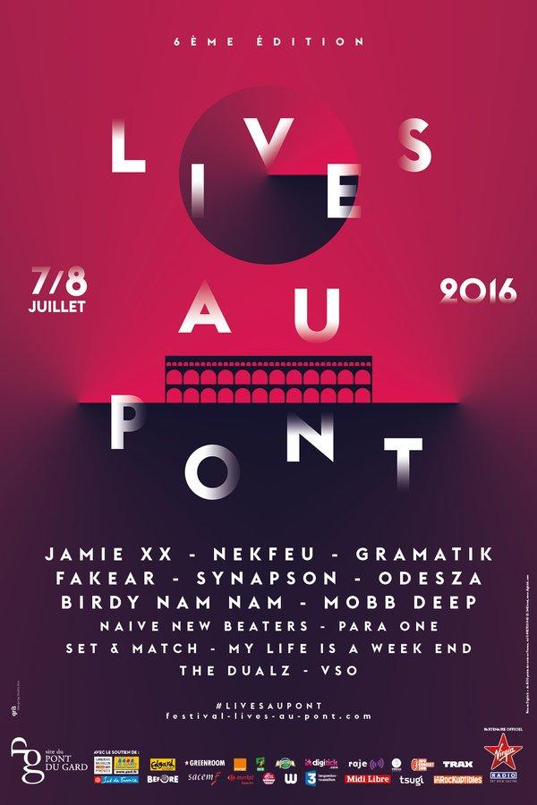 Festival Lives Au Pont 2016 Grizette