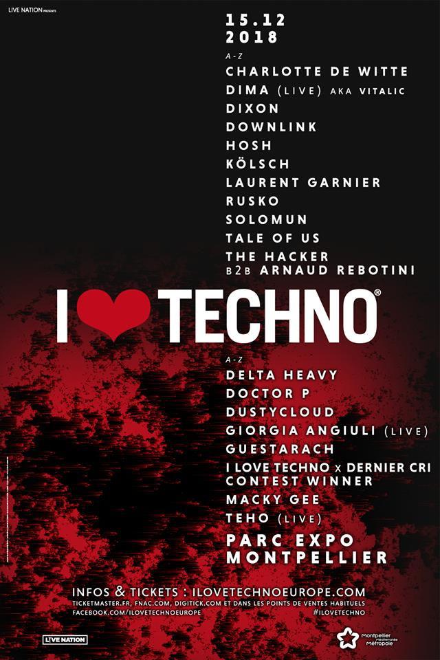 I Love Techno 2018