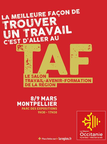 Salon taf travail avenir formation en occitanie grizette for Salon du taf carcassonne