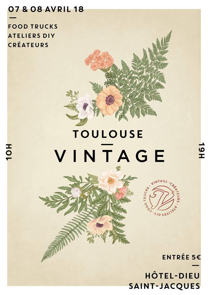 salon toulouse vintage l 39 h tel dieu saint jacques grizette. Black Bedroom Furniture Sets. Home Design Ideas