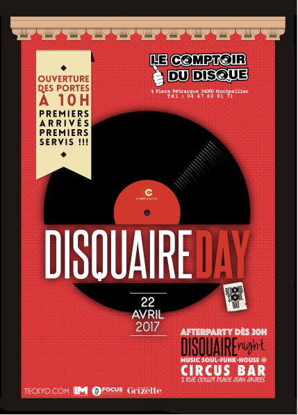 Disquaire Day 2017