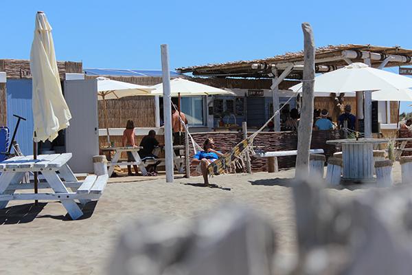 L'Oyat Plage plage privée au Grau-du-Roi