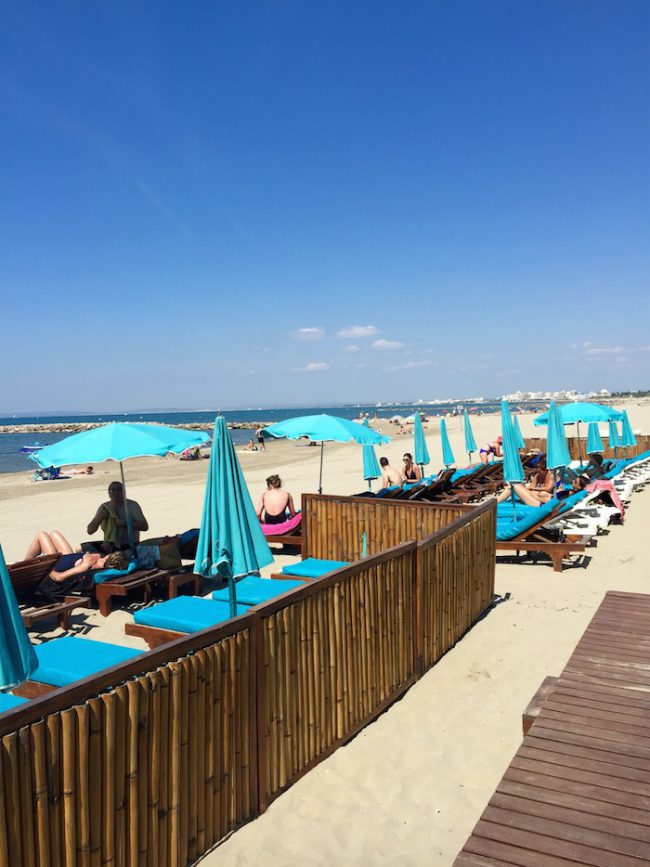 Bamboo Beach plage privée au Grau-du-Roi