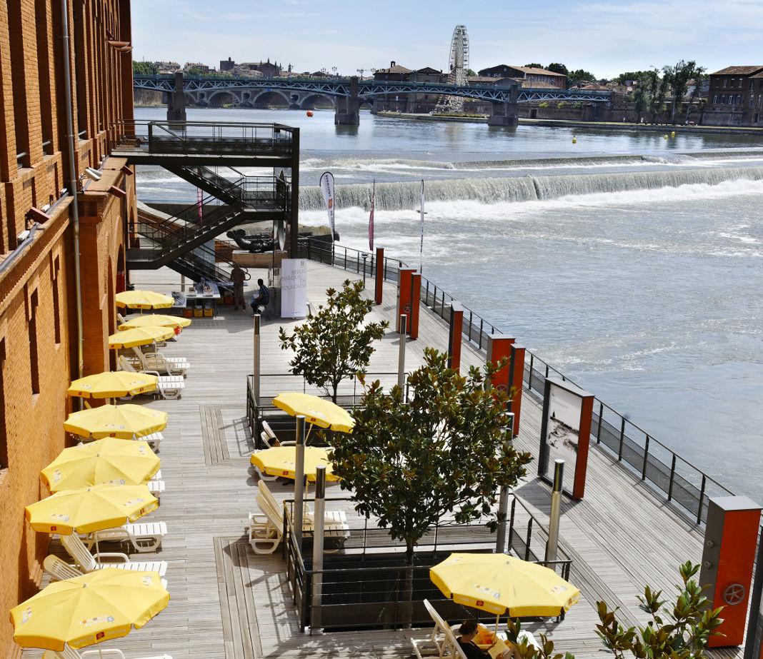 Restaurant bar nos meilleures terrasses toulouse grizette - Terrasse jardin resto paris toulouse ...
