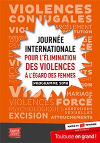 Journée internationale pour l'élimination des violences envers les femmes 2018