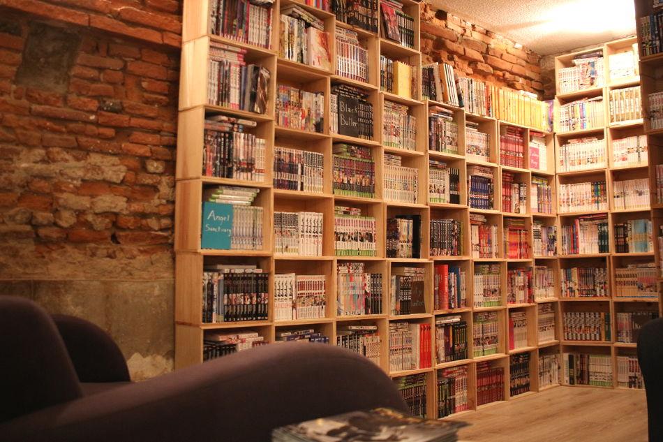 café librairie