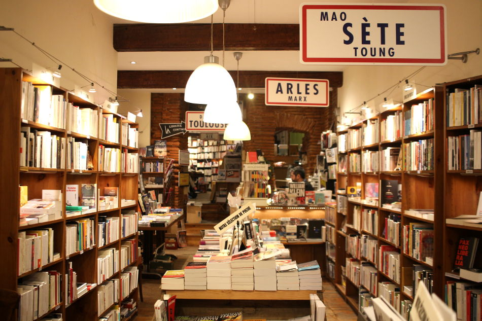 café librairie à Toulouse