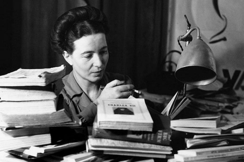 droits des femmes Simone de Beauvoir