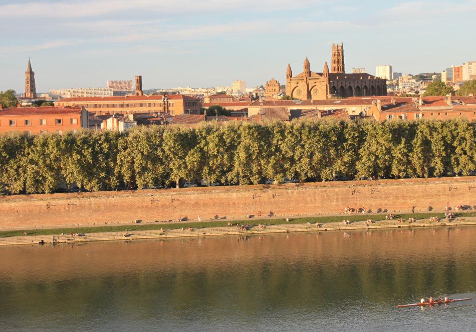 courir à Toulouse