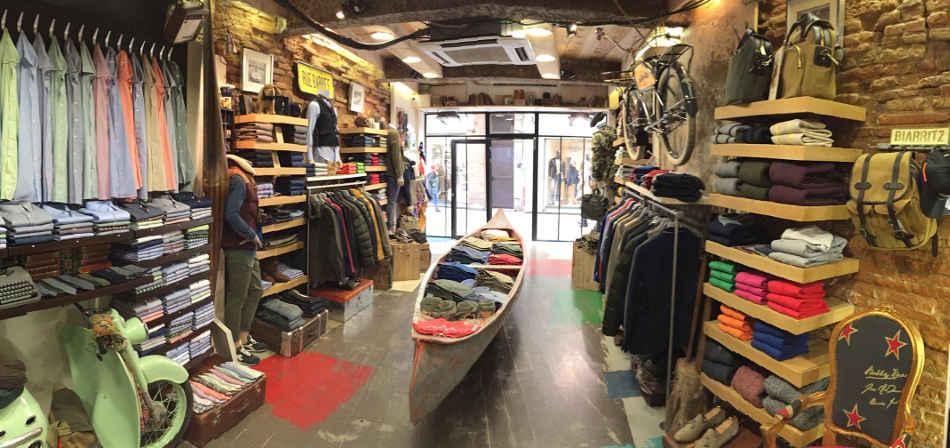 boutique homme à Toulouse