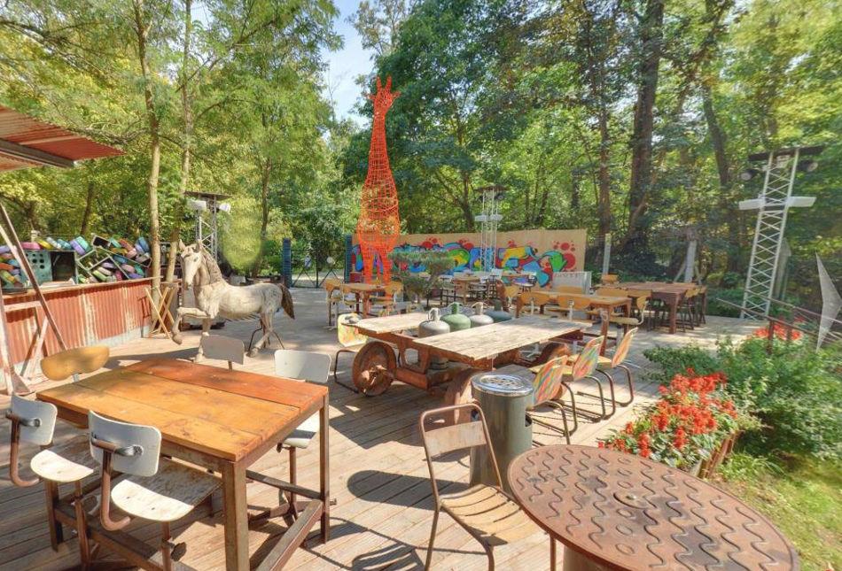 restaurant avec jardin à Toulouse