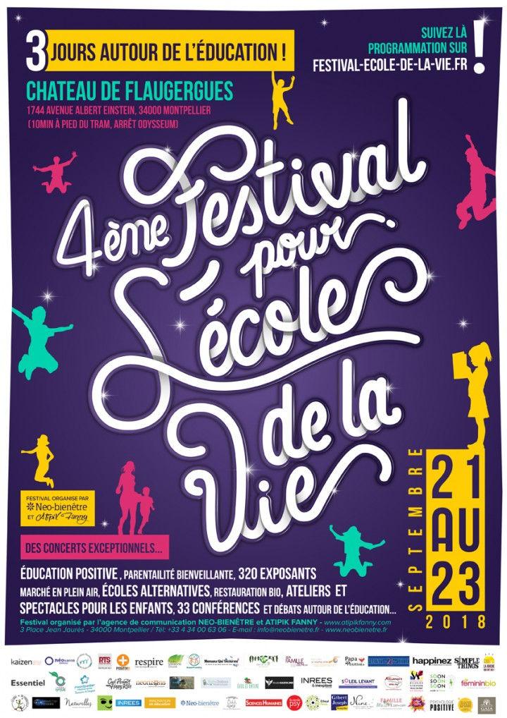 Festival pour l'école de la vie 2018