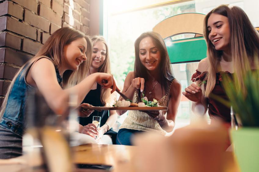 restaurant entre filles à Toulouse