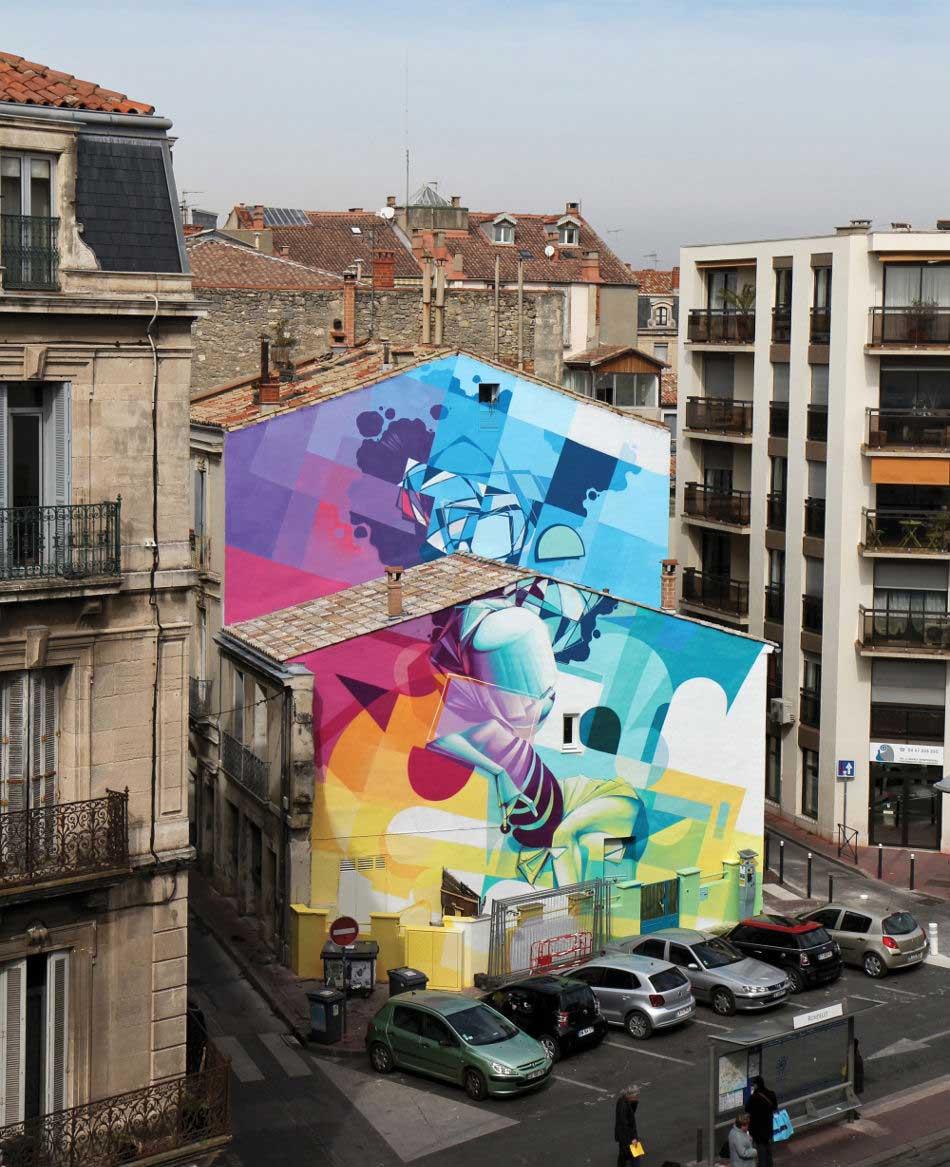 street art à Montpellier