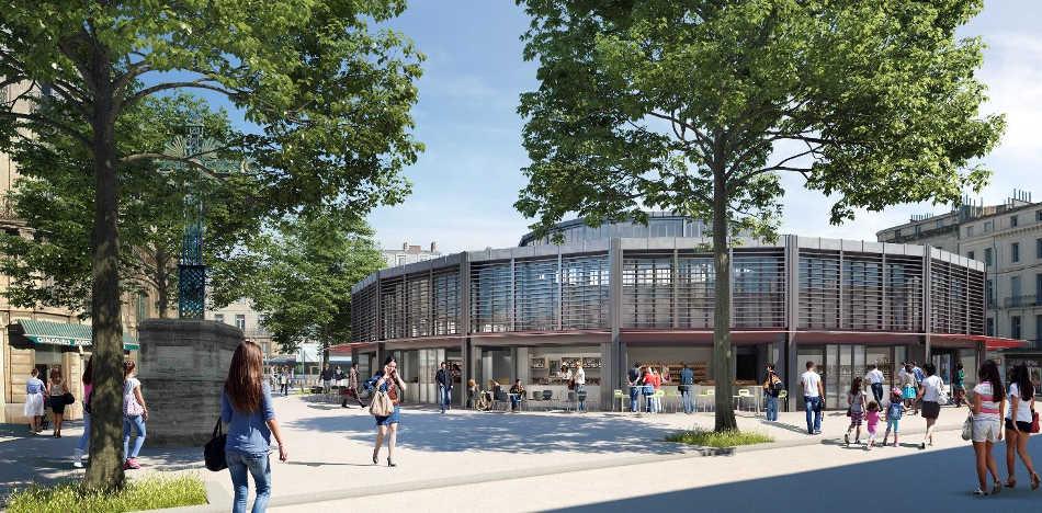 marché de Montpellier