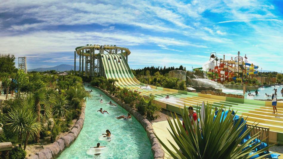 parc aquatique à Montpellier