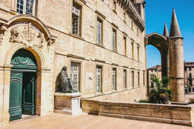 Écusson Montpellier Faculté de médecine