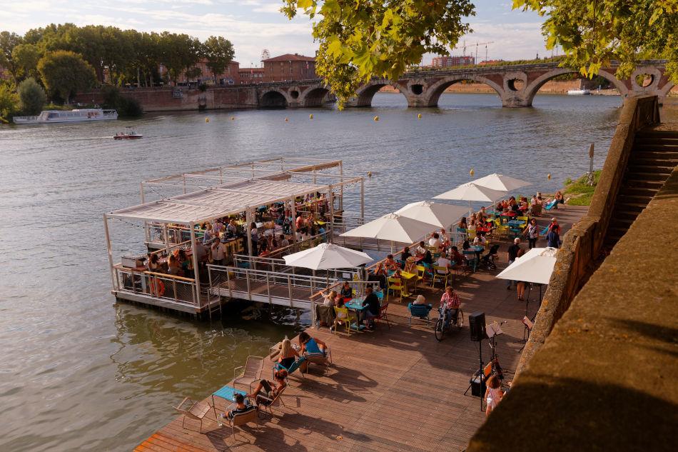 Quai de Tounis Carmes à Toulouse