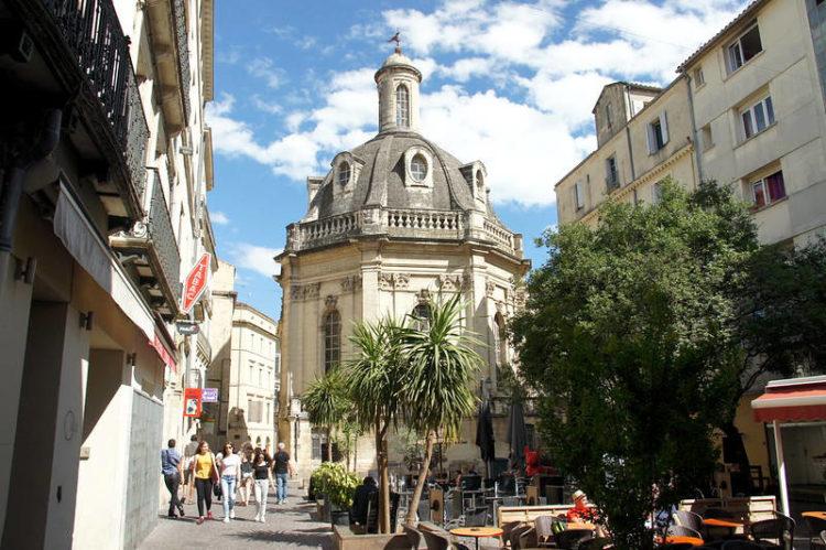 quartier de l'Écusson à Montpellier Place Saint-Côme