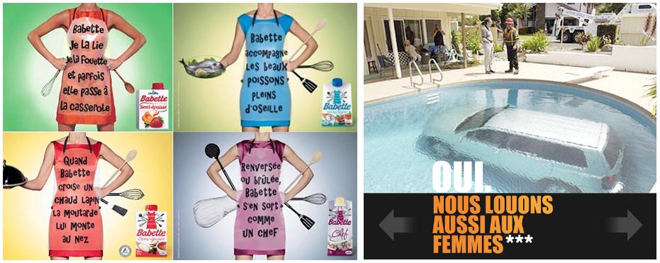publicité sexiste