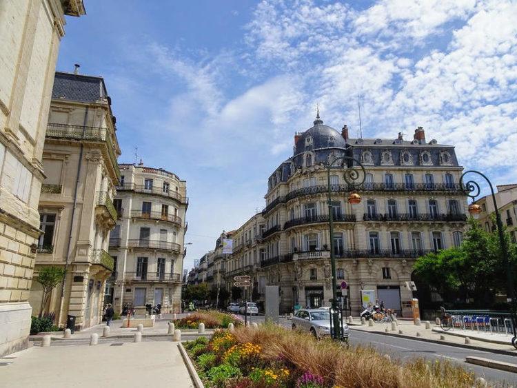 Écusson Montpellier Rue Foch