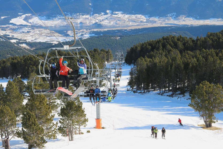 Formiguères ski Pyrénées