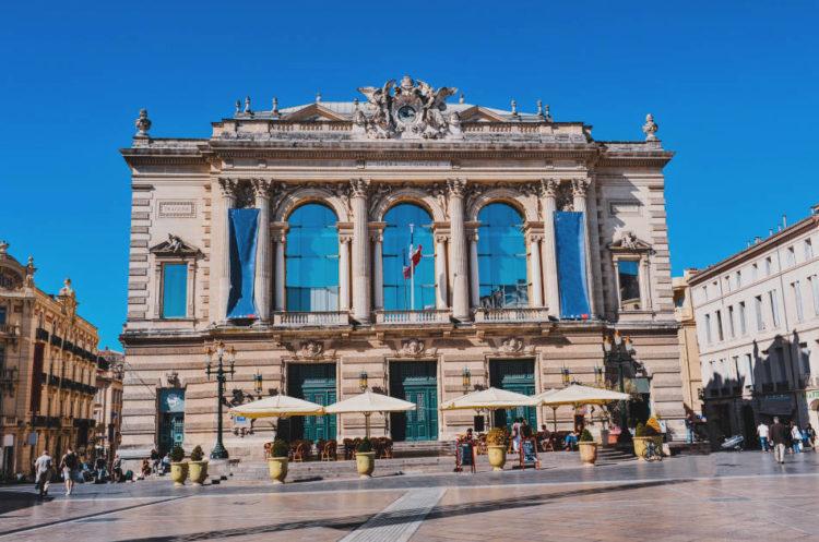 Écusson Montpellier Opéra Comédie