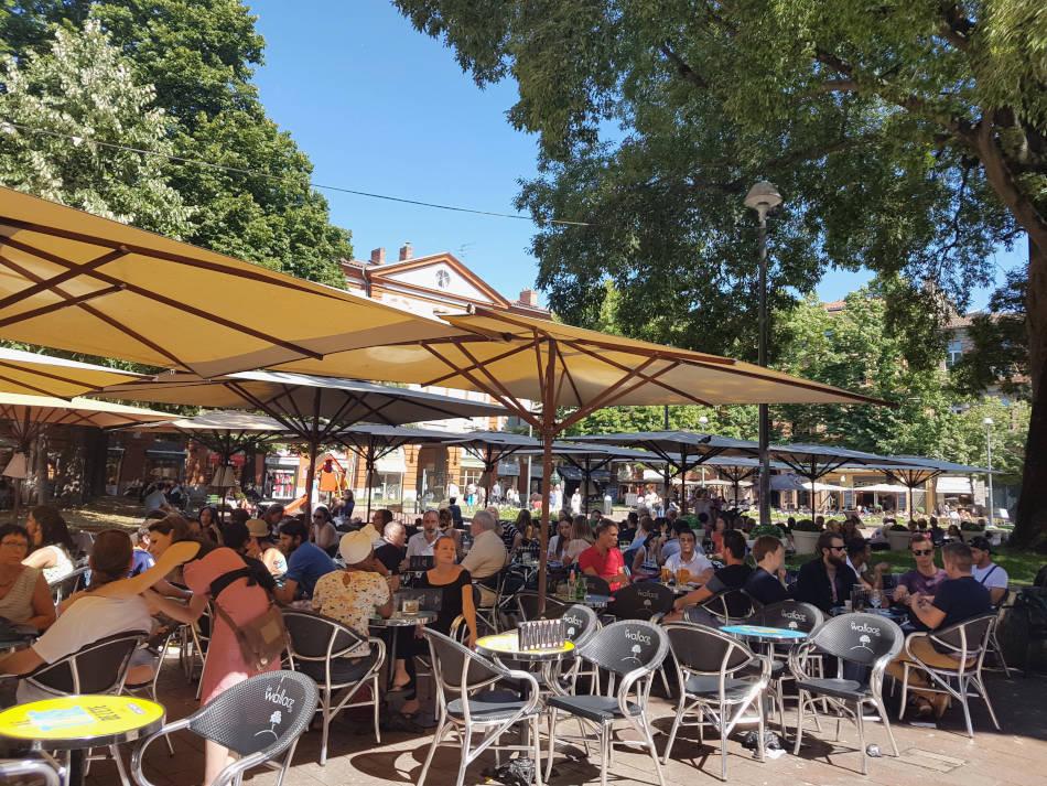 Place Saint-Georges - Quartier Saint-Georges Toulouse
