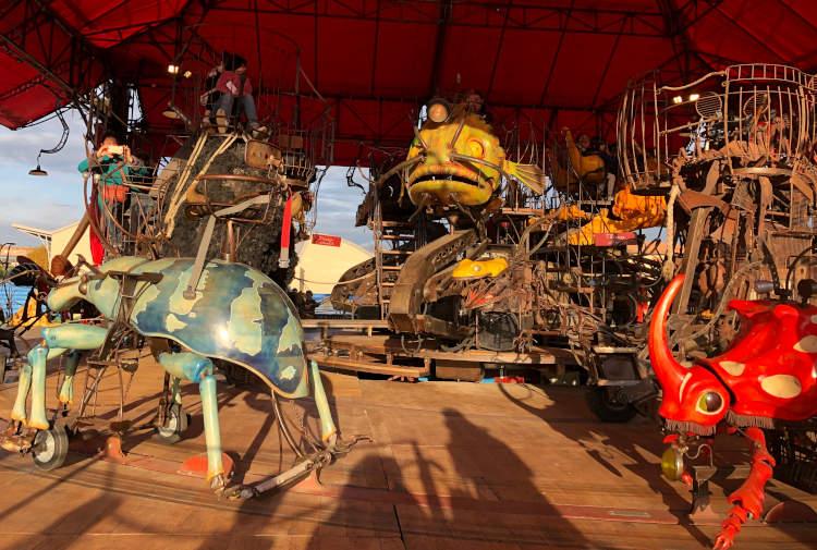 Manège Carré Sénart de la Halle de La Machine à Toulouse