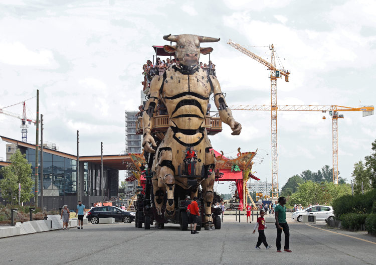 Le Minotaure de la Halle de La Machine à Toulouse