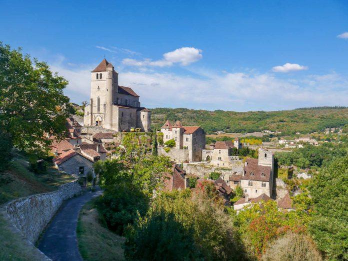 vue générale de Saint-Cirq Lapopie