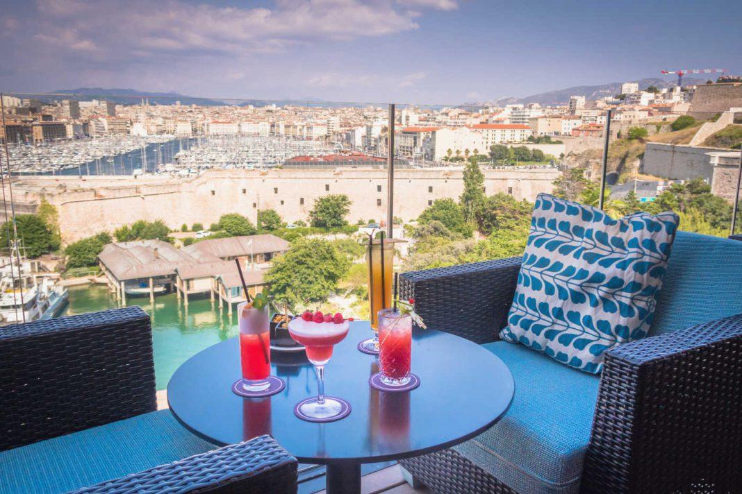 terrasse à Marseille