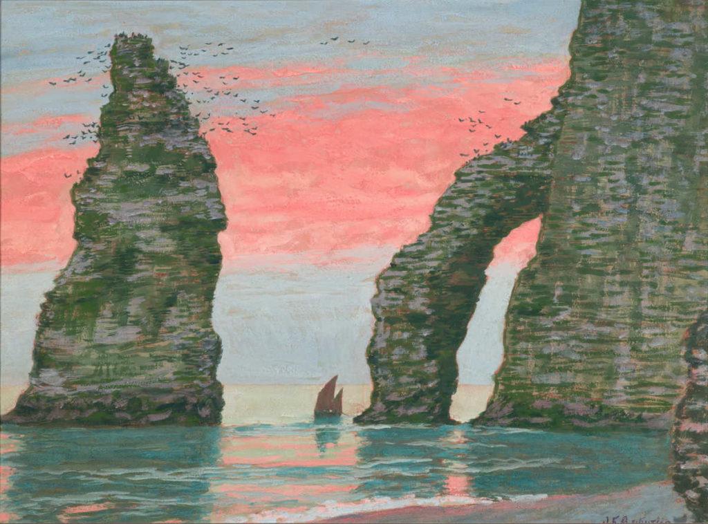 Jean-Francis Auburtin au Musée de Lodève